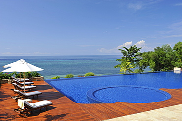 Pool at Escaya resort and spa, Bohol, Philippines, Southeast Asia, Asia