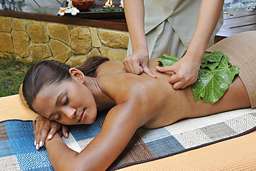 Hilot Treatment at the spa at Eskaya Beach Resort and Spa in Bohol, Philippines, Southeast Asia, Asia