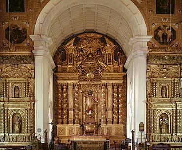 Basilica of Bom Jesus, Old Goa, UNESCO World Heritage Site, Goa, India, Asia