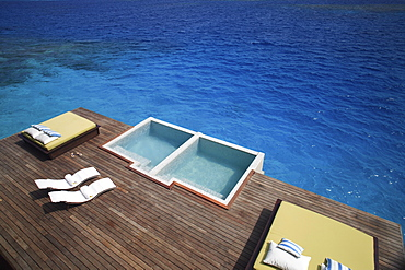 Pool at the Coco Spa at Coco Palm Bodu Hithi, Maldives, Indian Ocean, Asia - 238-4460
