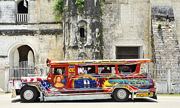 Jeepney in Loboc, Bohol, Philippines, Southeast Asia, Asia