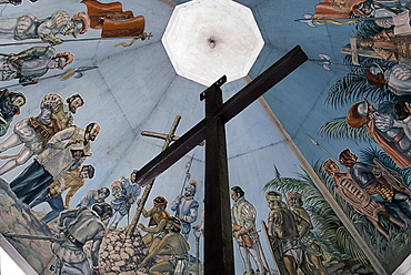 Magellan's Cross,Christian cross planted by Portuguese and Spanish explorers as ordered by Ferdinand Magellan upon arriving in Cebu in 1521, Cebu, Philippines, Southeast Asia, Asia
