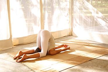 Yoga at Shreyas Retreat, Bangalore, Karnataka, India, Asia