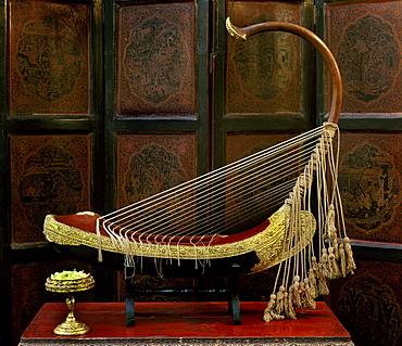 Burmese Harp, Myanmar (Burma), Asia