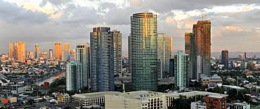View of Makati, Manila, Philippines, Southeast Asia, Asia