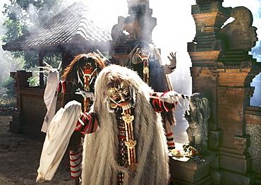 Rangdas (witches), Bali, Indonesia, Southeast Asia, Asia