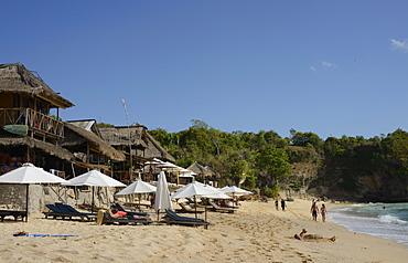 Balangan Beach and surfing hub, Bukit Peninsula, Bali, Indonesia, Southeast Asia, Asia
