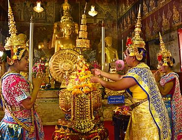 Wat Mahathat, Petchaburi, Thailand, Southeast Asia, Asia