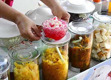Local desserts, Ko Samui, Thailand, Southeast Asia, Asia