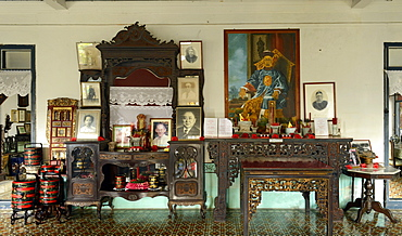 Pracha House, old mansion of a Chinese rubber tycoon, Phuket, Thailand, Southeast Asia, Asia