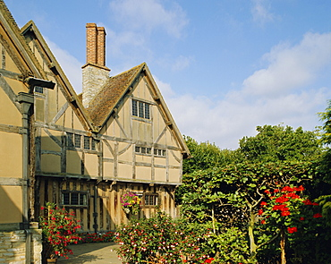 Hall's Croft, Shakespeare Trust, Stratford-upon-Avon, Warwickshire, England, UK, Europe