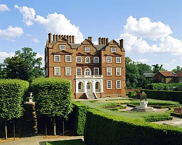 Kew Palace and Kew Gardens, London, England, UK