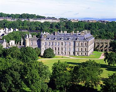 The palace of Holyrood House, Edinburgh, Lothian, Scotland, UK, Europe