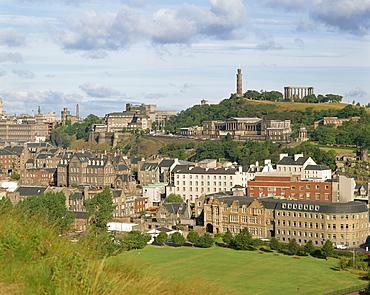 Calton Hill, Edinburgh, Scotland, United Kingdom, Europe