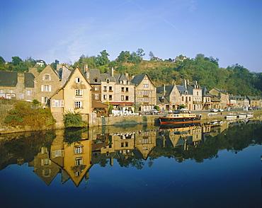 Port of Dinan, La Rance, Brittany, France, Europe