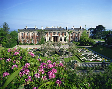 Bantry House and gardens, Bantry, County Cork, Munster, Republic of Ireland, Europe