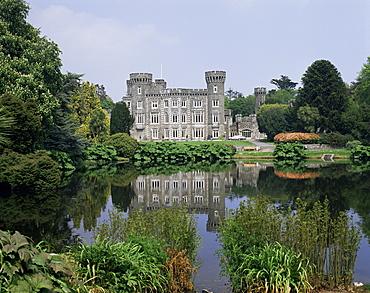 Johnston Castle, County Wexford, Leinster, Eire (Republic of Ireland), Europe