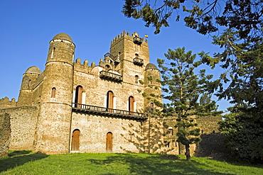 Fasiladas' Palace, The Royal Enclosure, Gonder, Ethiopia, Nortern Ethiopia, Africa