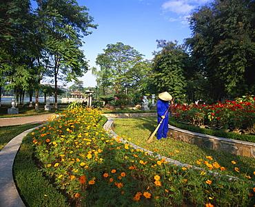 Central City Park, Hanoi, Vietnam, Indochina, South East Asia, Asia
