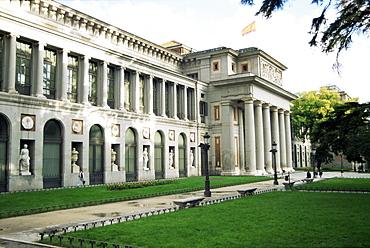 El Prado Museum, Madrid, Spain, Europe