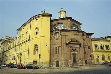 Piazza Cavour, Turin, Piedmont, Italy, Europe