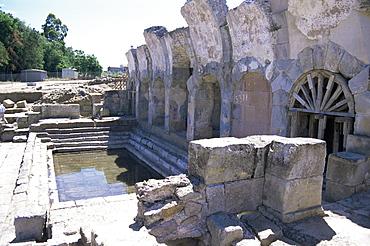 Fordongianus Roman baths, Sardinia, Italy, Europe