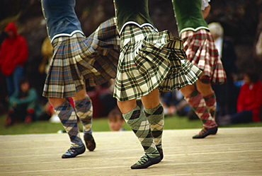Highland dancing competition, Skye Highland Games, Portree, Isle of Skye, Scotland, United Kingdom, Europe