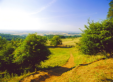 Dover HIll, Cotswolds Way, Cotswolds, Gloucestershire, England