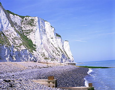 St. Margaret's at Cliffe, White Cliffs of Dover, Kent, England, United Kingdom, Europe