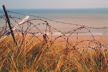 Utah Beach, where American Forces landed on D-Day in June 1944 during the Second World War, Calvados, Normandie (Normandy), France, Europe