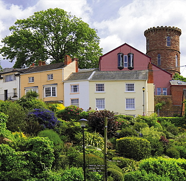 The market town of Ross on Wye, Herefordshire, England, United Kingdom, Europe