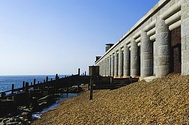 Hurst Castle, English Heritage military fort, Hurst Spit, Keyhaven, The Solent, Hampshire, England, United Kingdom, Europe