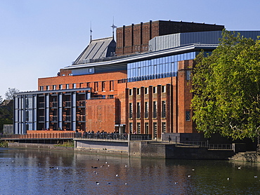 New Shakespeare Memorial Theatre, Stratford-upon-Avon, Warwickshire, England, United Kingdom, Europe