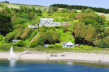 Bantham, Bigbury on Sea, estuary of the River Avon, Devon, England, United Kingdom, Europe