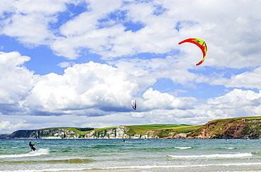 Bigbury on Sea and Burgh Island, South Hams, Devon, England, United Kingdom, Europe