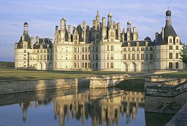 Chateau de Chambord, UNESCO World Heritage Site, Centre, France, Europe