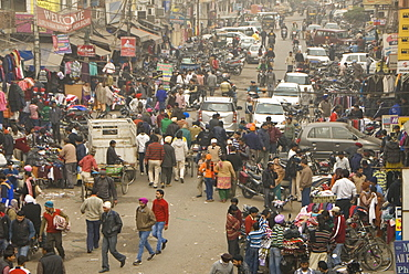 Street market, Amritsar. Punjab, India, Asia