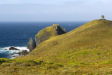 The Albatross Monument at Cape Horn, Isla de Cabo de Hornos, Tierra del Fuego, Chile, South America