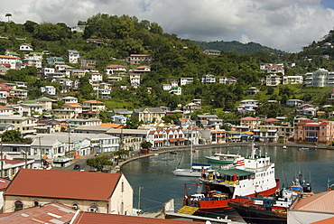The Carenage (the old harbour), St. George's, Grenada, Windward Islands, West Indies, Caribbean, Central America