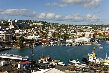 Fort de France, Martinique, Windward Islands, West Indies, Caribbean, Central America