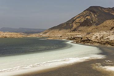 Lake Assal, 151m below sea level, Djibouti, Africa