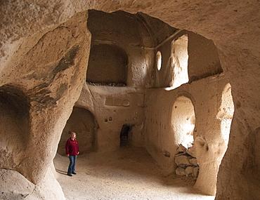 Direkli Church, AD1000, Belisirma, Ihlara, western Cappadocia, Anatolia, Turkey, Asia Minor, Eurasia