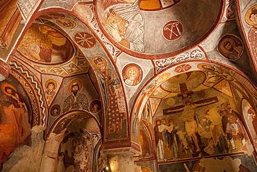 Apple Church, Goreme, UNESCO World Heritage Site, Cappadocia, Anatolia, Turkey, Asia Minor, Eurasia