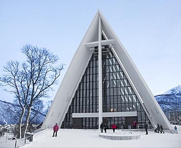 Arctic Cathedral, Tromso, Norway, Scandinavia, Europe