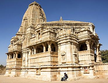 Meera Jain Temple, Chittorgarh (Fort), Chittor, Rajasthan, India, Asia