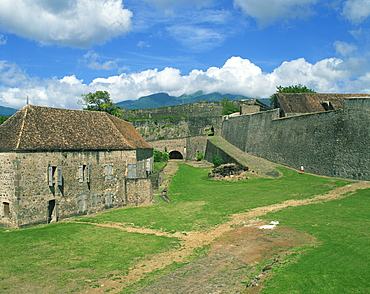 Fort St. Charles, Basse-Terre, Guadeloupe, Lesser Antilles, West Indies, Caribbean, Central America