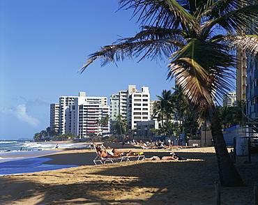 Condado Beach, San Juan, Puerto Rico, Central America
