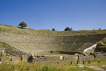 The 3rd century BC Theatre, Dodona, Epiros, Greece, Europe