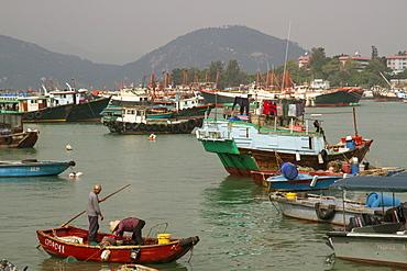 Harbour, Cheung Chau island, Hong Kong, China, Asia