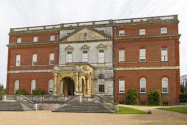 Clandon Park Palladian house, West Clandon, Guildford, Surrey, England, United Kingdom, Europe